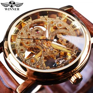 Golden Leather Watches